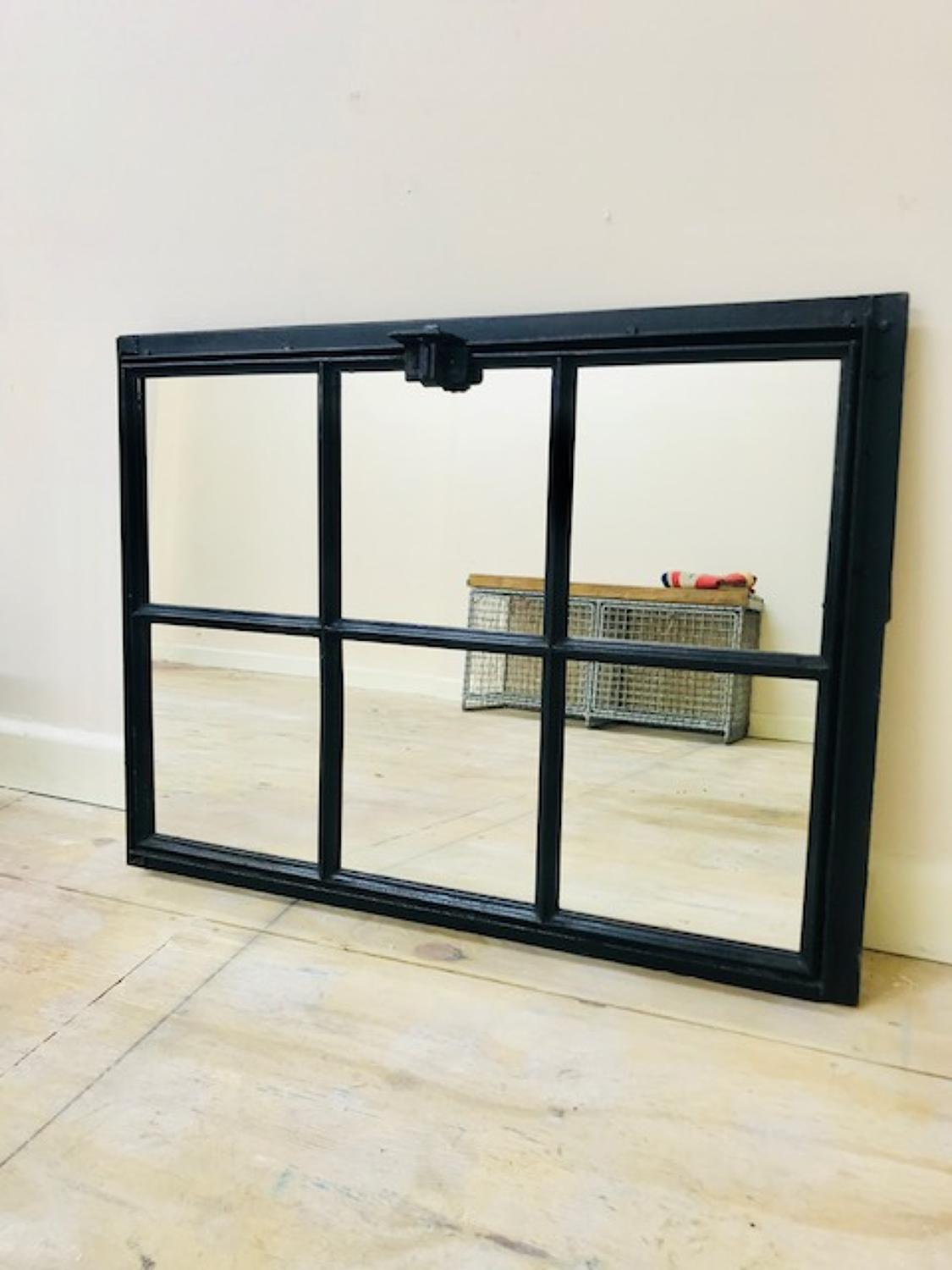 French factory window mirror