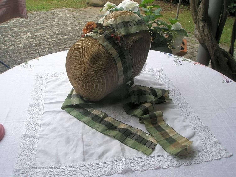 A rare Georgian bonnet - English 1820 - 1825