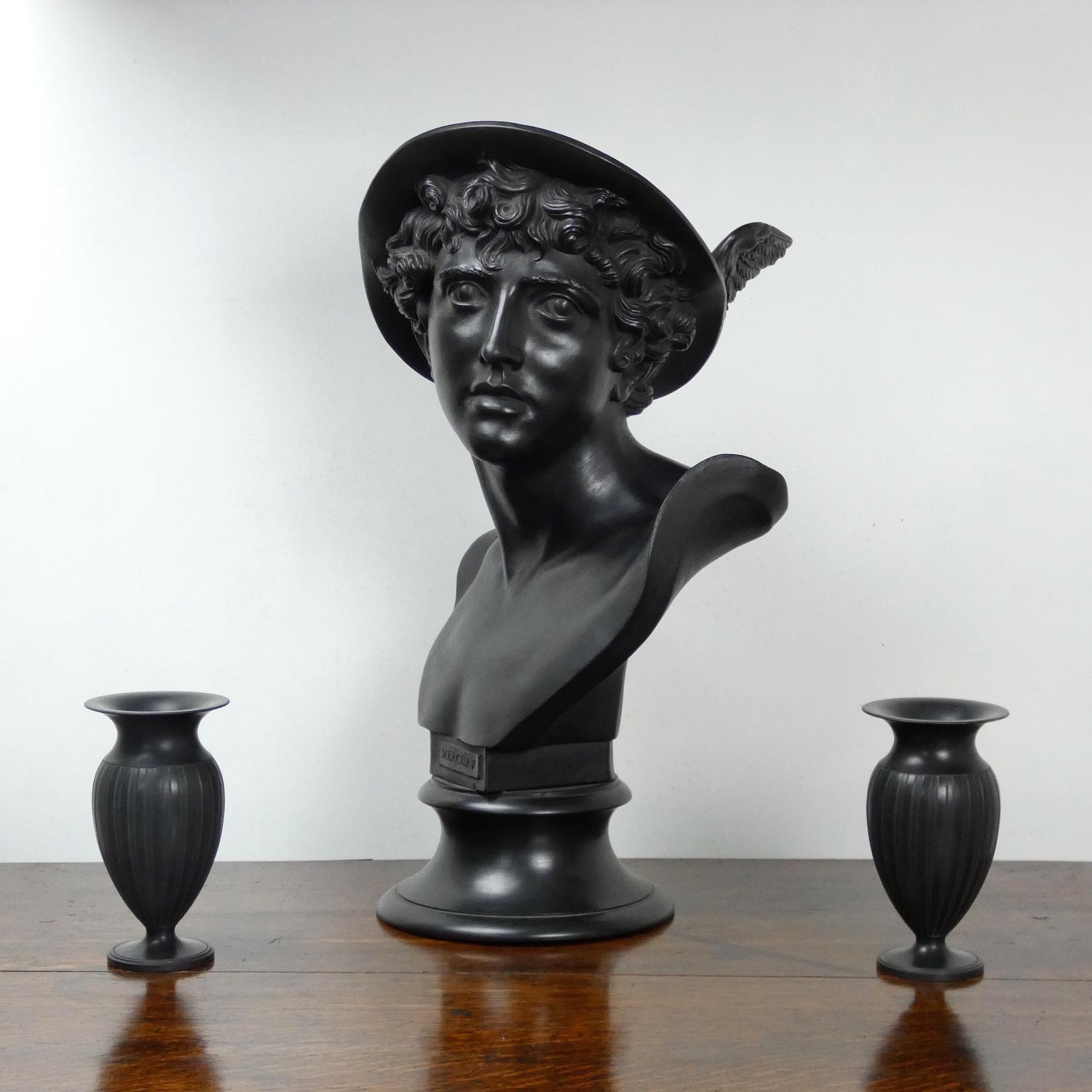 Library Bust of Mercury