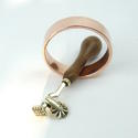 Brass pastry tool. - picture 1
