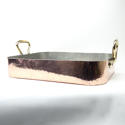 Heavy Copper Roasting Pan. - picture 5