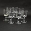 7 Crystal Wine Glasses - picture 2
