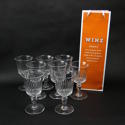 8 Large Crystal Wine Glasses - picture 1