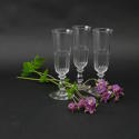 3 Crystal Champagne Flutes - picture 1