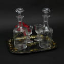 Engraved Liquer Decanters. - picture 1