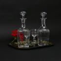Engraved Liquer Decanters. - picture 3