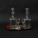 Engraved Liquer Decanters. - picture 4