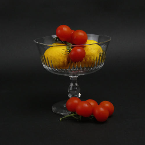 Small, Crystal, Pedestal Bowl