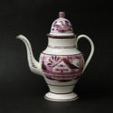 House Pattern Coffee Pot - picture 1