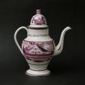 House Pattern Coffee Pot - picture 3