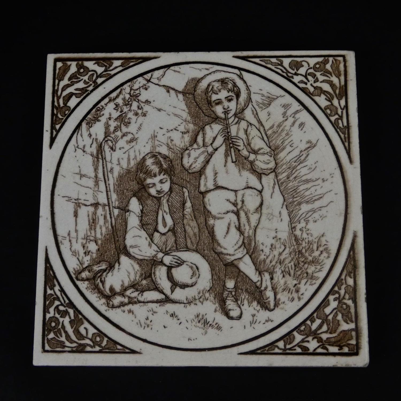 Victorian Picture Tile