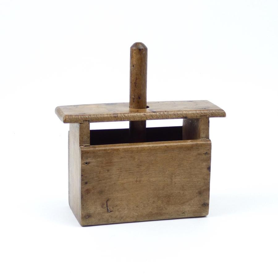 Wooden Butter Box.