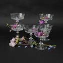 Crystal Champagne Coupes - picture 1