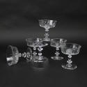 Crystal Champagne Coupes - picture 3