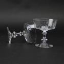 Crystal Champagne Coupes - picture 4