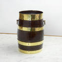 Small, Brass Bound Barrel - picture 1