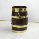 Small, Brass Bound Barrel - picture 4