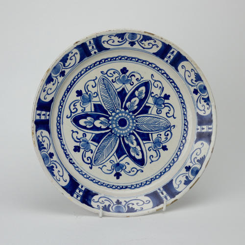Dutch Delft Plate
