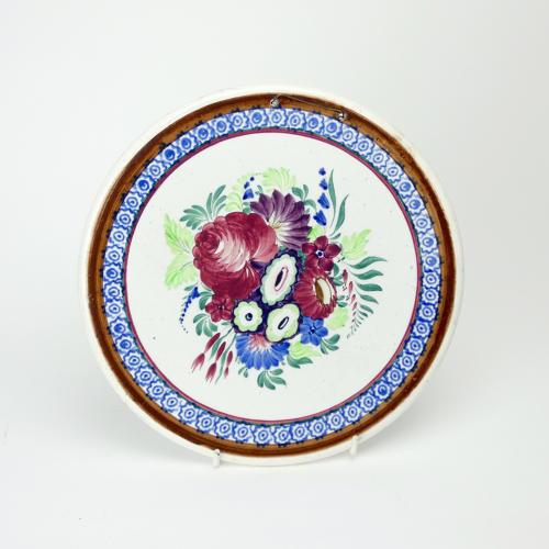 Spongeware Plaque