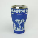 Vase with Plated Rim - picture 2