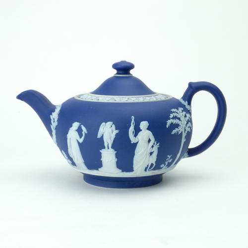 Blue Jasper Teapot