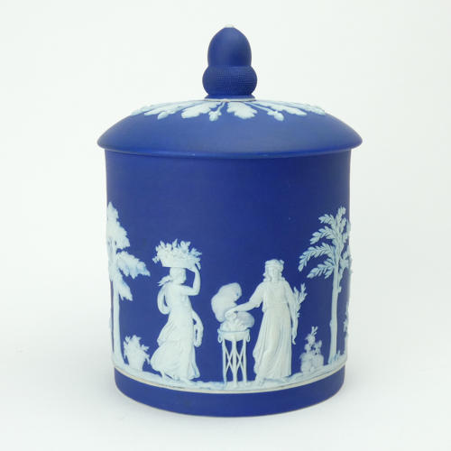 Biscuit Jar and Cover