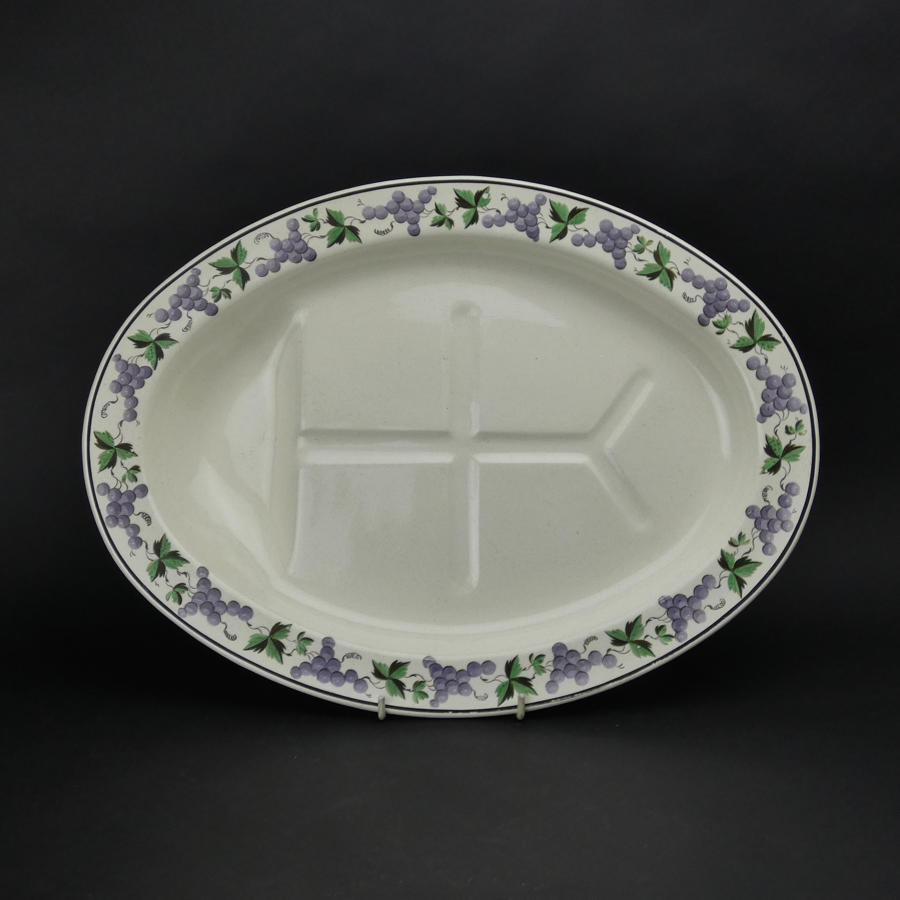 Swansea Creamware Meat Plate