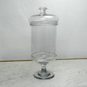 Large Crystal Storage Jar. - picture 2