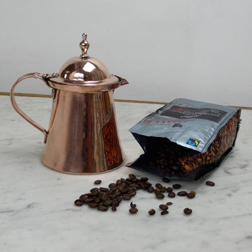 Lidded Copper Jug