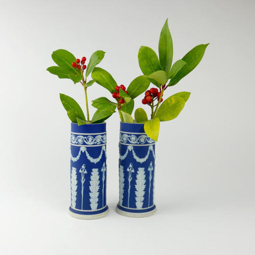 'Harebell and Acanthus' Spill Vases