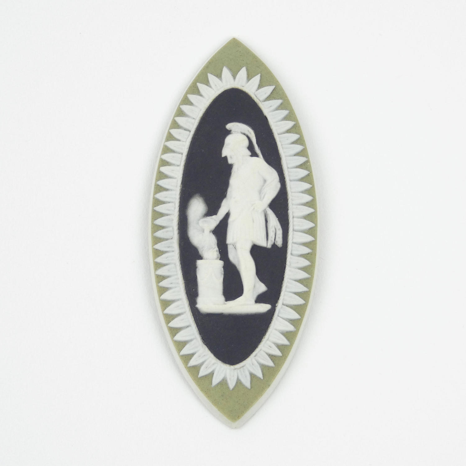18th Century Black and Green Cameo