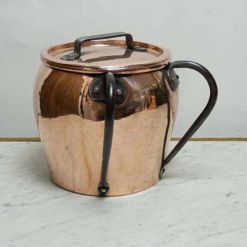 Unusual Copper Pot