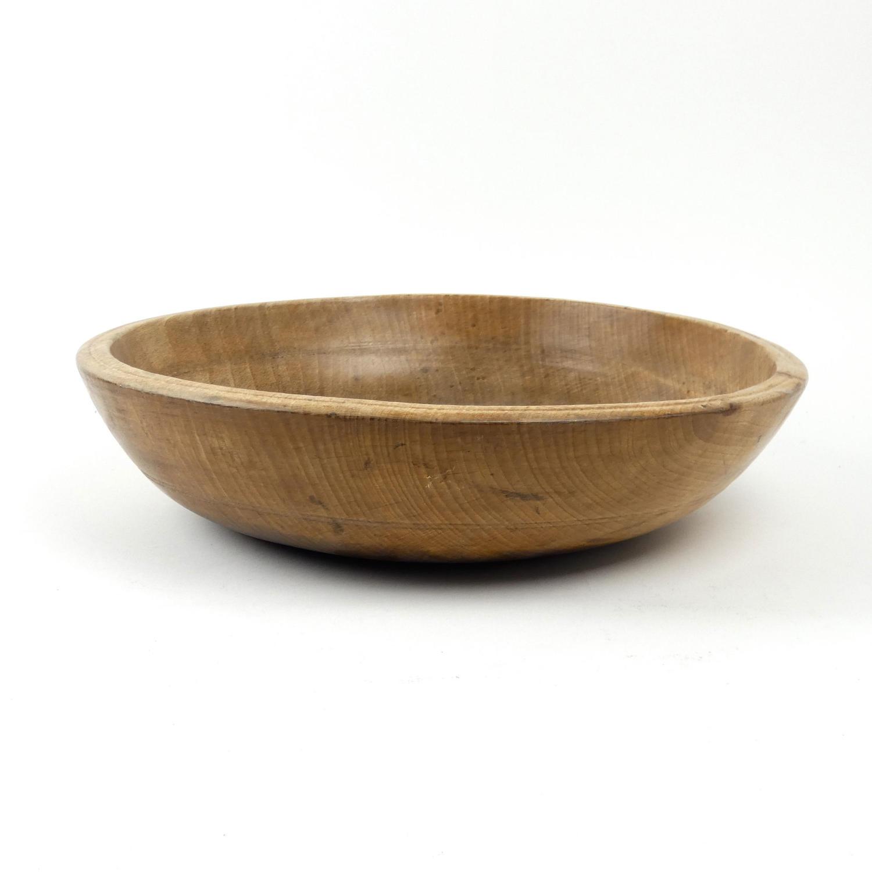Beechwood butter bowl
