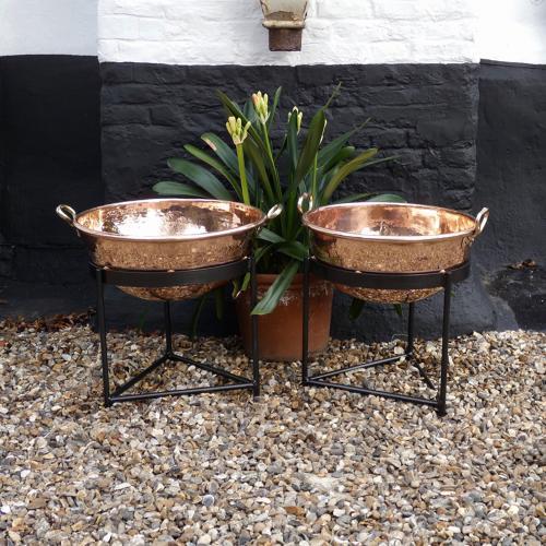 Huge 19th century sugar bowls