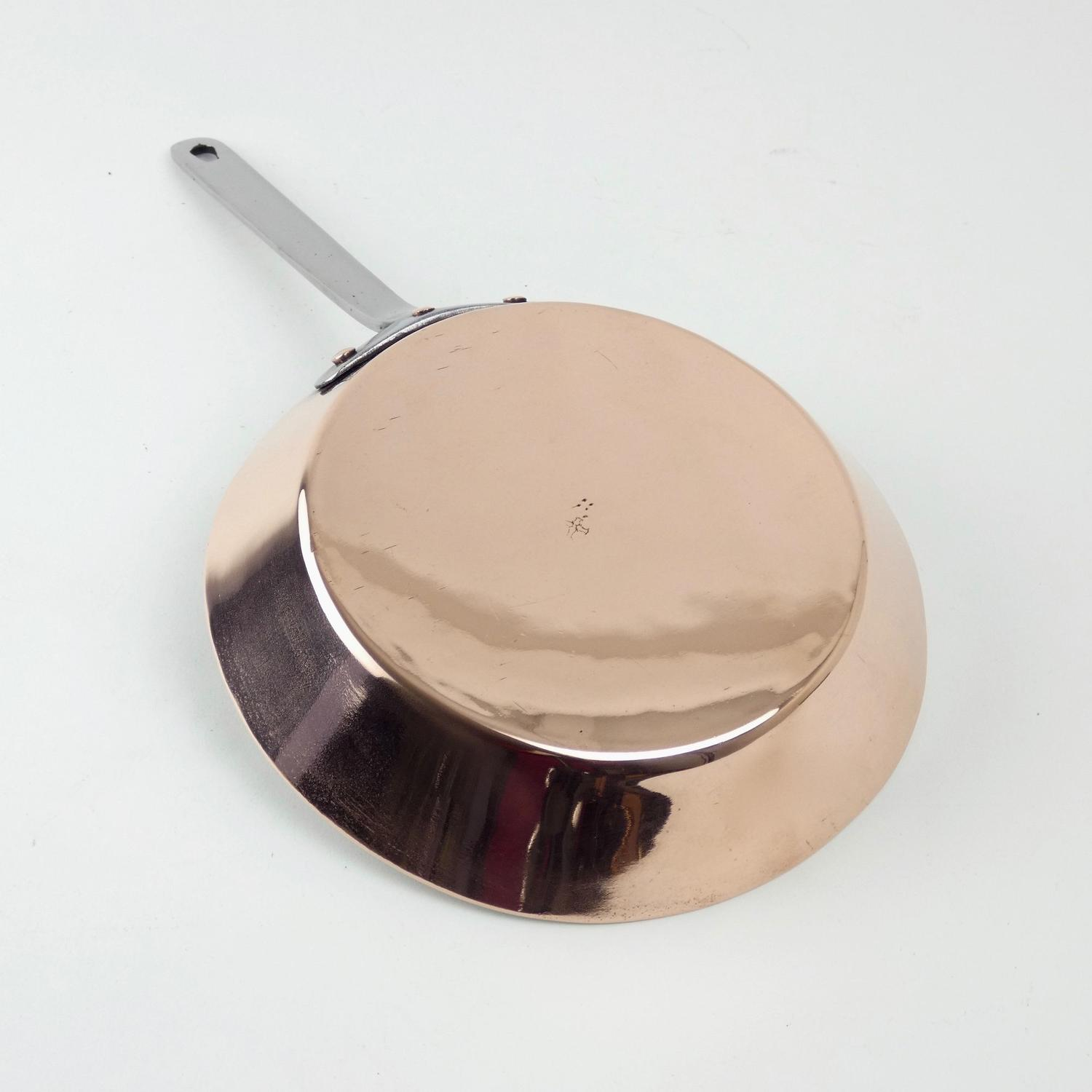 Small, English omelette pan
