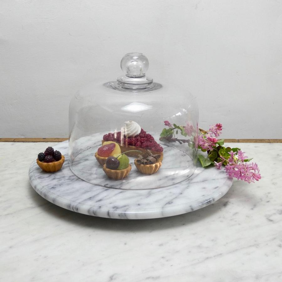 French crystal food dome
