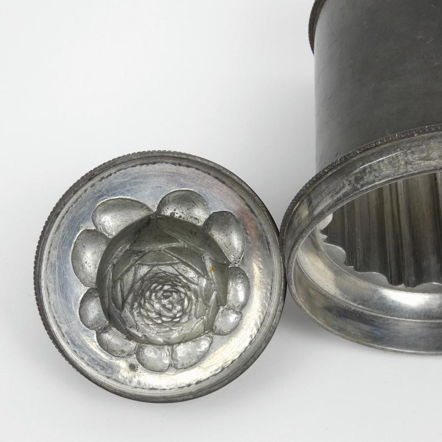 Pewter banquet mould