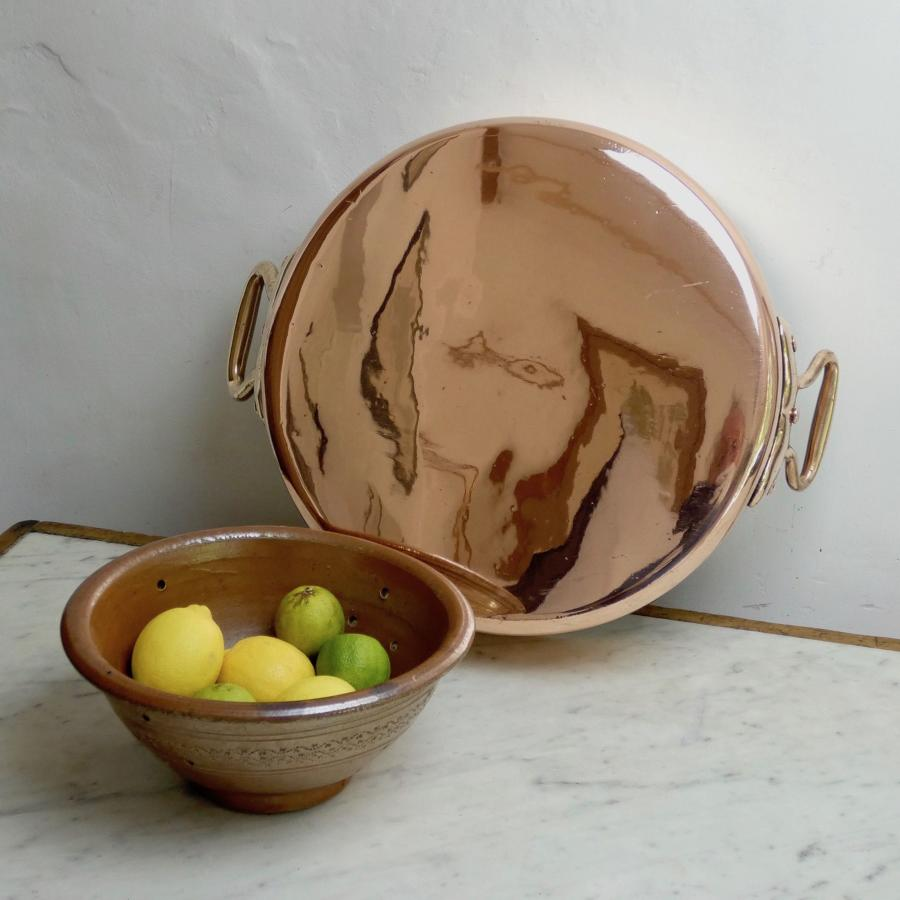 Heavy, French cooking pot