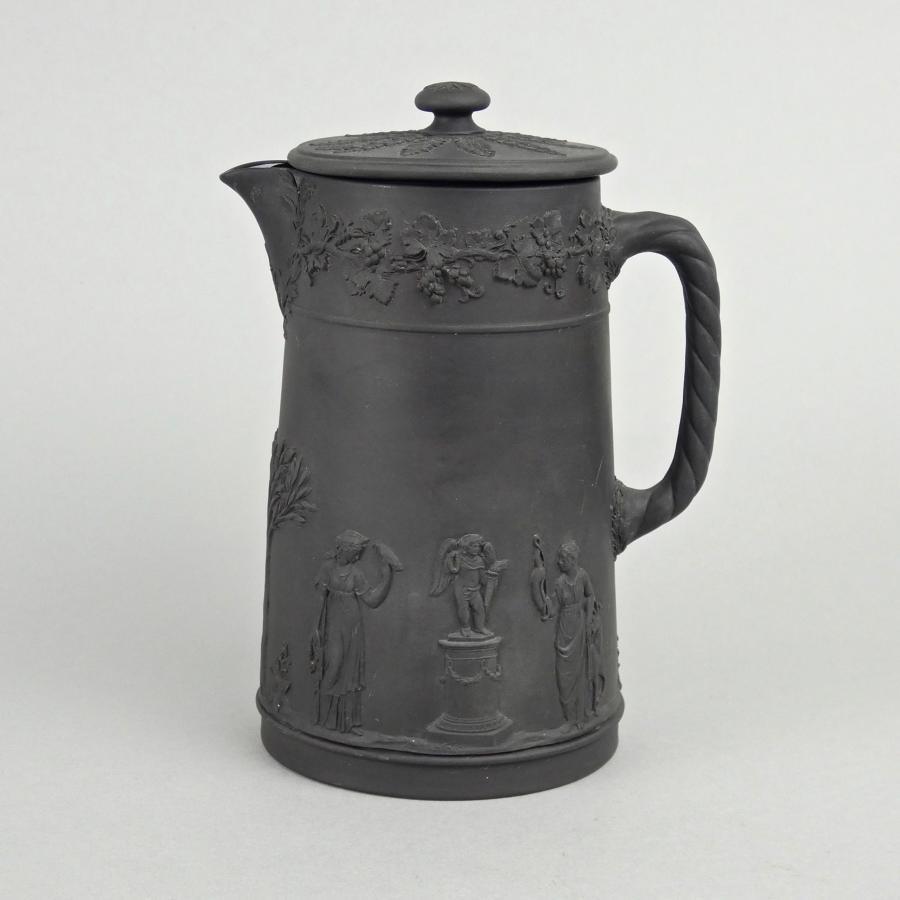 Wedgwood basalt hot water jug