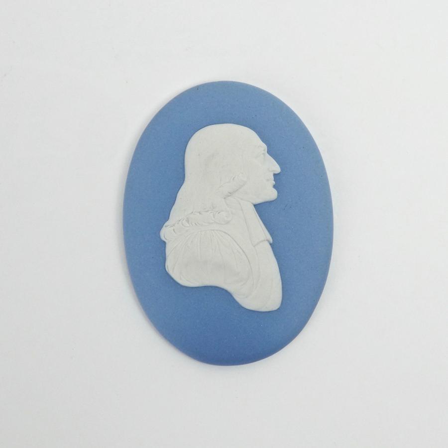 Portrait medallion of John Wesley