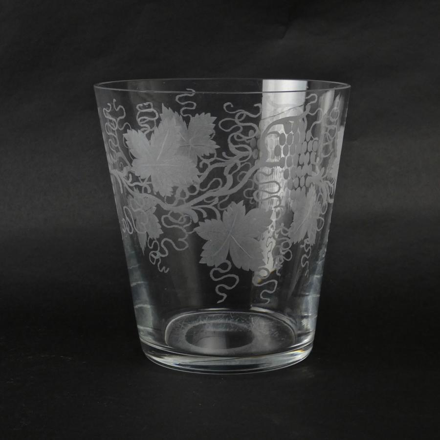 French crystal wine cooler