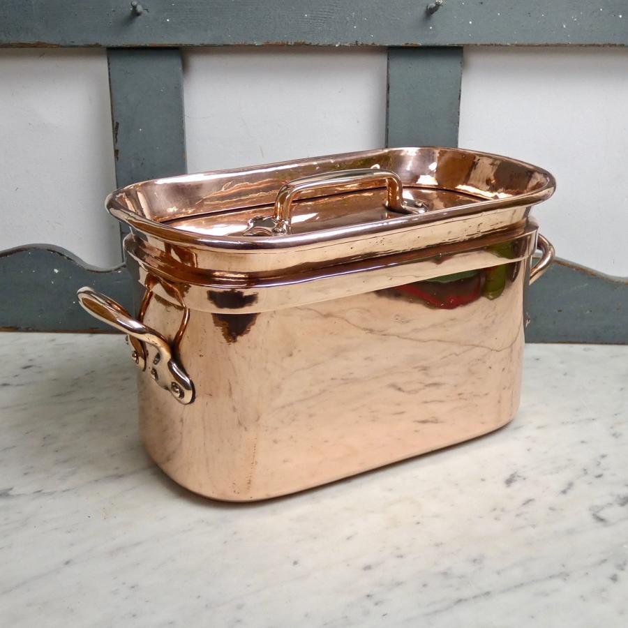 French copper daubiere