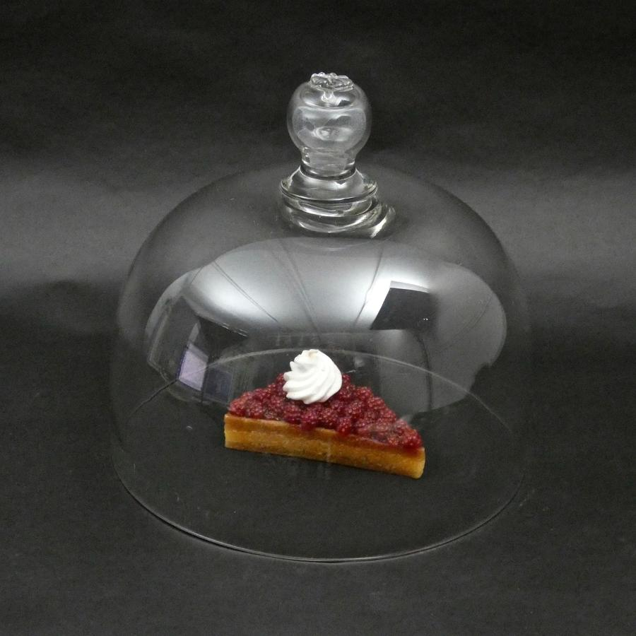 French crystal food cover