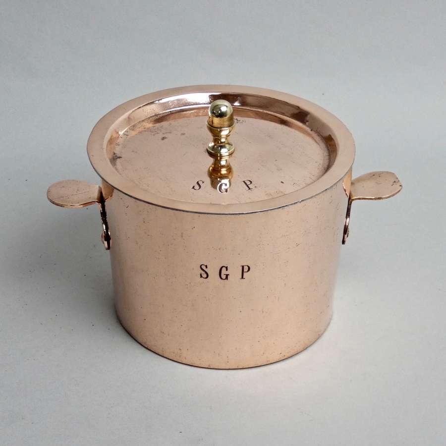 'Dehillerin' creme reversee pan