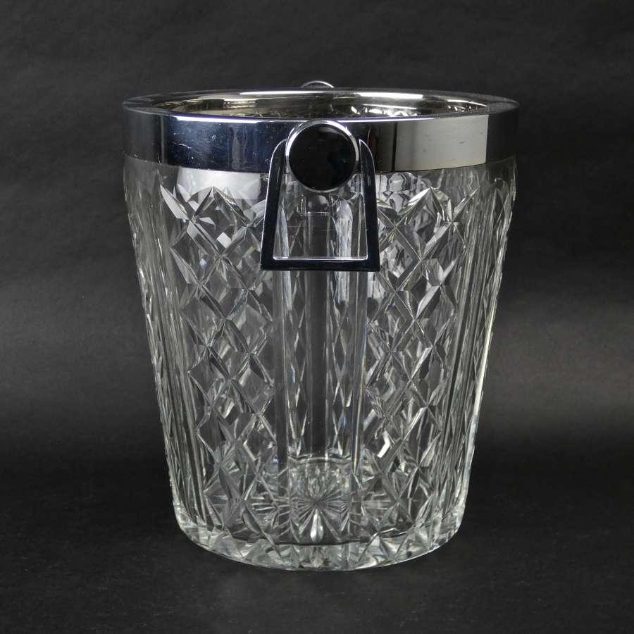 Crystal champagne cooler