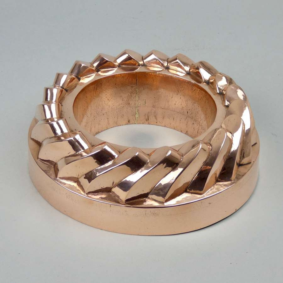 Low copper ring mould
