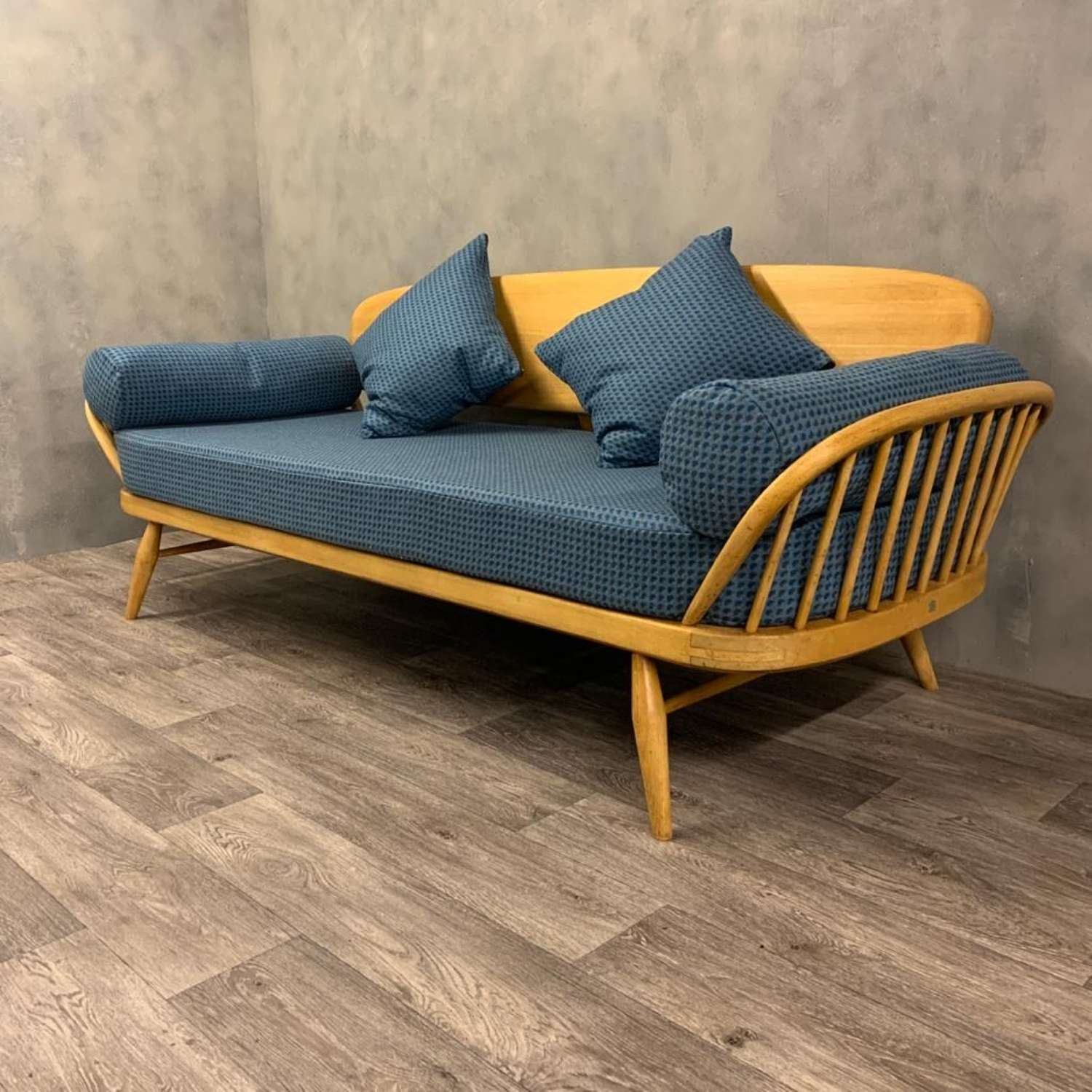 Midcentury Ercol studio couch sofa daybed