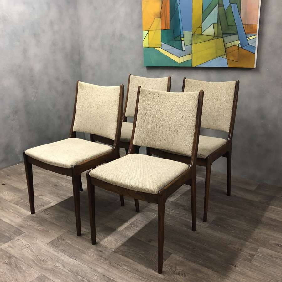 Dining chairs Danish Johannes Anderson