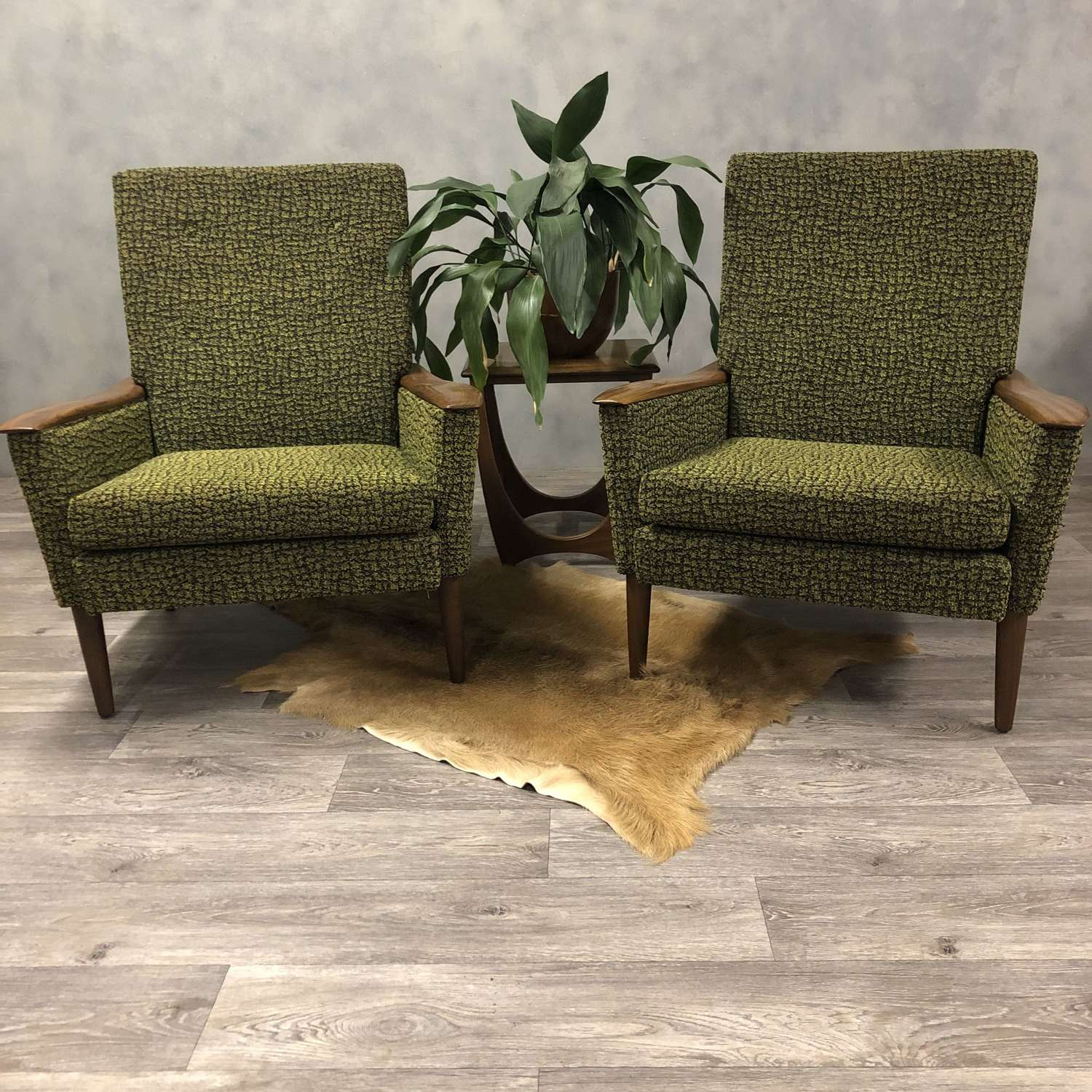 Pair of 1950s Greaves and Thomas lounge chairs