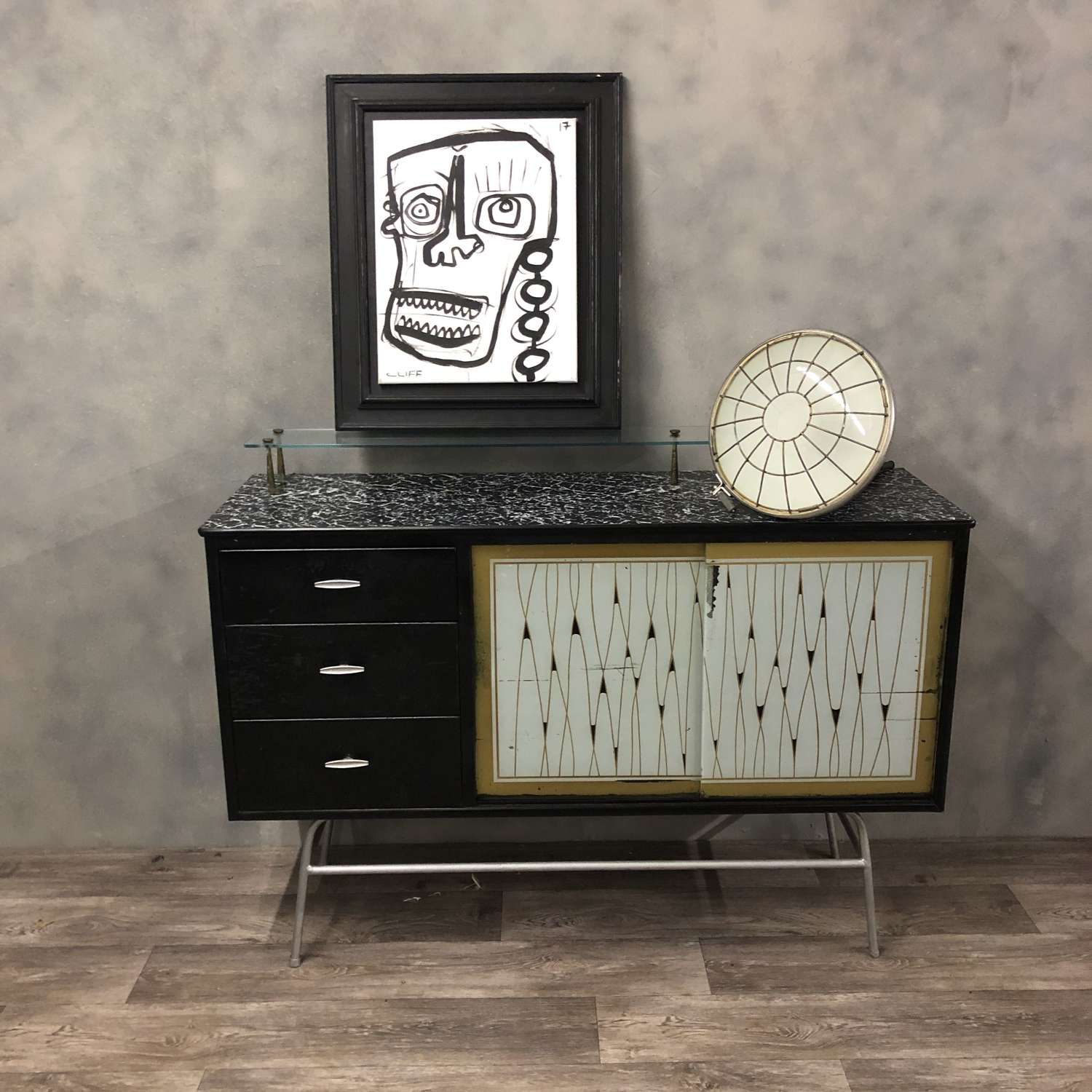 Retro 50/60s sideboard